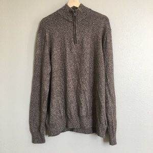 Men's Size L Brown Sweater